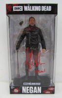 "Jeffrey Dean Morgan Signed ""The Walking Dead"" Negan McFarlane Figurine Inscribed ""Negan"" (JSA COA) at PristineAuction.com"