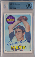 Jim McAndrew Signed 1969 Topps #321 RC (BGS Encapsulated) at PristineAuction.com