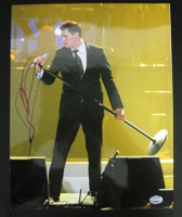 Michael Buble Signed 11x14 Photo (PSA COA) at PristineAuction.com