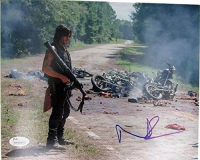 """Norman Reedus Signed """"The Walking Dead"""" 8x10 Photo (JSA COA) at PristineAuction.com"""