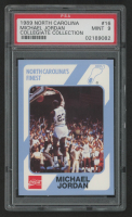 Michael Jordan 1989-90 North Carolina Collegiate Collection #16 (PSA 9) at PristineAuction.com