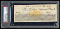 Benjamin Harrison Signed Personal Bank Check (PSA Enapsulated) at PristineAuction.com