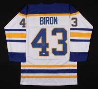 Martin Biron Signed Jersey (JSA COA) at PristineAuction.com