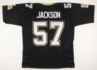 "Rickey Jackson Signed Jersey Inscribed ""HOF 2010"" (JSA COA) at PristineAuction.com"