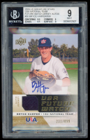 Bryce Harper 2009 Upper Deck Signature Stars USA National Team Future Watch Jersey Autographs #30 (BGS 9) at PristineAuction.com