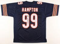 "Dan Hampton Signed Jersey Inscribed ""HOF 2002"" (Beckett Hologram) at PristineAuction.com"