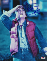 "Michael J. Fox Signed ""Back to the Future"" 11x14 Photo (PSA COA) at PristineAuction.com"