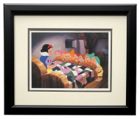 "Walt Disney's ""Snow White & the Seven Dwarfs"" 16x18 Custom Framed Print Display at PristineAuction.com"