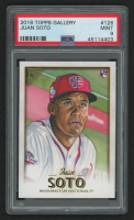 Juan Soto 2018 Topps Gallery #126 RC (PSA 9) at PristineAuction.com