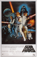 "Lot of (3) Star Wars 27x39 Movie Posters with ""Star Wars: A New Hope"", ""Star Wars: The Empire Strikes Back"" & ""Star Wars: Return of the Jedi"" at PristineAuction.com"