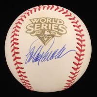 Jorge Posada Signed 2009 World Series Baseball (JSA COA) at PristineAuction.com
