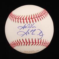 """Garth Brooks Signed LE OML Career Stat Engraved Baseball Inscribed """"God Bless"""" (JSA COA) at PristineAuction.com"""