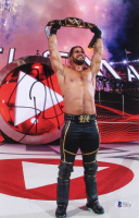 Seth Rollins Signed WWE 8x12 Photo (Beckett COA) at PristineAuction.com