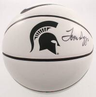 Tom Izzo Signed Michigan State Spartans Logo Basketball (JSA COA) at PristineAuction.com