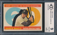 Roger Maris 1960 Topps #565 All-Star (BCCG 9) at PristineAuction.com