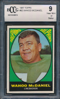 Wahoo McDaniel 1967 Topps #82 RC (BCCG 9) at PristineAuction.com