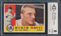Roger Maris 1960 Topps #377 (BCCG 8) at PristineAuction.com