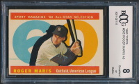 Roger Maris 1960 Topps #565 All-Star (BCCG 8) at PristineAuction.com