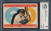 Roger Maris 1960 Topps #565 All-Star (BCCG 7) at PristineAuction.com