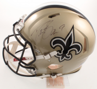 Drew Brees Signed Saints Full-Size Authentic On-Field Speed Helmet (JSA COA) at PristineAuction.com