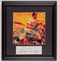 LeRoy Neiman Signed 16x17.5 Custom Framed Cut Display (PSA COA) at PristineAuction.com