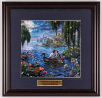 "Thomas Kinkade Walt Disney's ""The Little Mermaid"" 18x18.5 Custom Framed Print Display at PristineAuction.com"