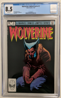 "1982 ""Wolverine"" Issue #3  Marvel Comic Book (CGC 8.5) at PristineAuction.com"