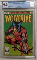 "1982 ""Wolverine"" Issue #4 Marvel Comic Book (CGC 9.2) at PristineAuction.com"