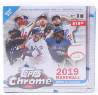 2019 Topps Chrome Update Series Baseball Box with (28) Cards at PristineAuction.com