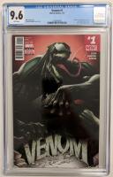 """2017 """"Venom"""" Issue #1 Marvel Comic Book (CGC 9.6) at PristineAuction.com"""