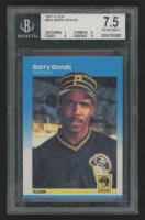 Barry Bonds 1987 Fleer #604 RC (BGS 7.5) at PristineAuction.com