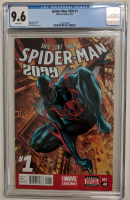 "2014 ""Spider-Man 2099"" Volume 2 Issue #1 Marvel Comic Book (CGC 9.6) at PristineAuction.com"
