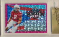 Chase Young 2020 Leaf Metal Draft State Pride Pre-Production Proof Mojo Pink (Leaf Authentic) at PristineAuction.com