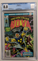 "1976 ""NOVA"" Issue #1 Marvel Comic Book (CGC 8.0) at PristineAuction.com"