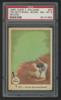 Ted Williams 1959 Fleer #34 Runs Scored Record (PSA 8) at PristineAuction.com