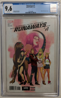 "2017 ""Runaways"" Volume 5 Issue #1 Marvel Comic Book (CGC 9.6) at PristineAuction.com"