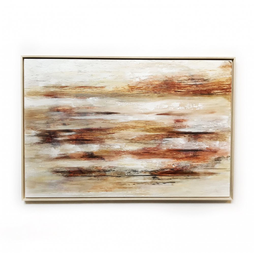 """Kobie Moore Signed """"What Could Have Been"""" 31x46 Mixed Media on Wood at PristineAuction.com"""
