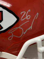 Chiefs LE Full-Size Authentic On-Field Speed Helmet Signed by (5) with Patrick Mahomes, Travis Kelce, Tyreek Hill, Damien Williams & Sammy Watkins (Fanatics Hologram) at PristineAuction.com