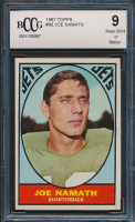 Joe Namath 1967 Topps #98 (BCCG 9) at PristineAuction.com
