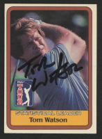 Tom Watson Signed 1981 Dunruss PGA Tour Golf Card (JSA COA) at PristineAuction.com