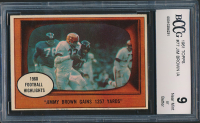 Jim Brown 1961 Topps #77 IA (BCCG 9) at PristineAuction.com