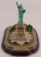 "Danbury Mint - ""Lighted Statue of Liberty"" Figurine (Imperfect) at PristineAuction.com"