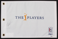 Rickie Fowler Signed The Players Pin Flag (Beckett COA) at PristineAuction.com