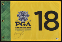 Jason Day Signed 2015 PGA Championship Pin Flag (Beckett COA) at PristineAuction.com