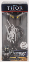 """Stan Lee Signed """"Thor: The Mighty Avenger"""" Destroyer Bobblehead (PSA COA & Lee Hologram) at PristineAuction.com"""
