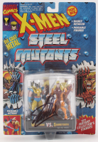 "Stan Lee Signed ""X-Men"" Steel Mutants Figures (PSA COA & Lee Hologram) at PristineAuction.com"