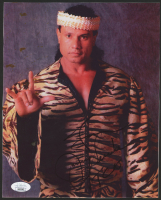 "Jimmy ""Superfly"" Snuka Signed 8x10 Photo with Inscription (JSA COA) at PristineAuction.com"