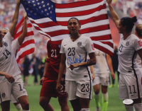 Christen Press Signed Team USA 11x14 Photo (JSA COA) at PristineAuction.com