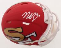 Nick Bosa Signed 49ers AMP Alternate Speed Mini Helmet (Beckett COA) at PristineAuction.com