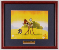 "Walt Disney's ""Bambi"" 16x18.5 Custom Framed Animation Serigraph Cel Display at PristineAuction.com"